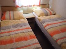 ložnice v mobilním domě