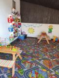 dětský koutek na terase Restaurace CLUB