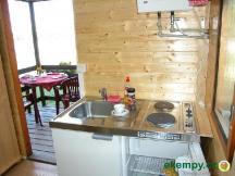 Chaty A -  s nově zařízenou kuchyňkou