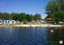 vlastní pláž jezero Lipno