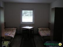 Pokoj v budově kempu pro karavany