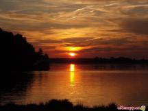Západ slunce na Bezdrevu
