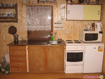 kuchyň v chatě se SZ