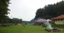 Camping Paradijs - ohníček