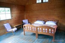 Svatební pokoj ve srubu