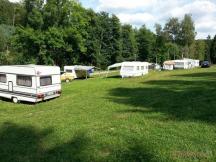 místo pro karavany