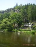 Příroda nad tábořištěm