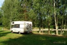 místa pro karavany