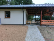 Kuchyňka pro ubytované, výstavba 2016
