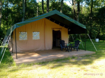 rented tent