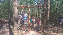 lesní tělocvična