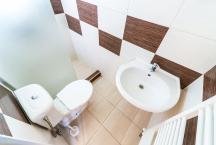 koupelna WC+sprcha