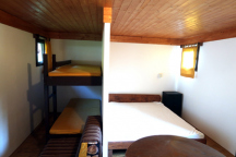 Chata č. 5 -ložnice
